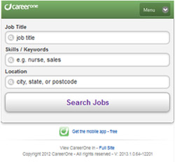 CareerOne Mobile App