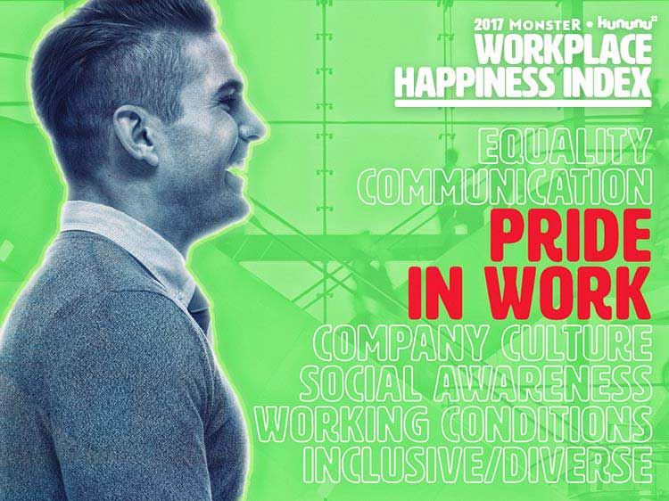 Top 10 companies for pride in work