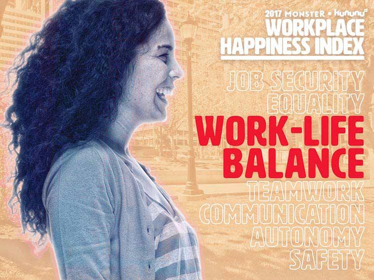 Top 10 companies for work-life balance