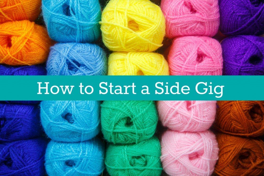 How to start a side gig