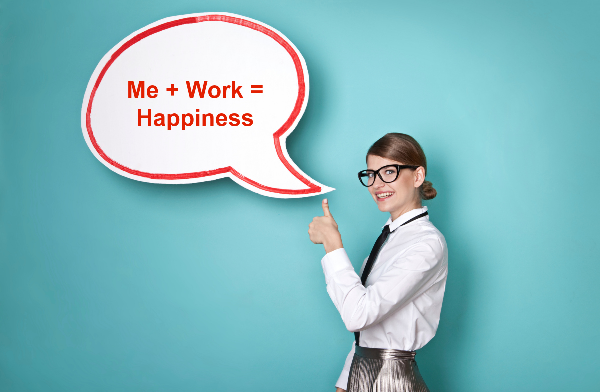 How to find happiness at work