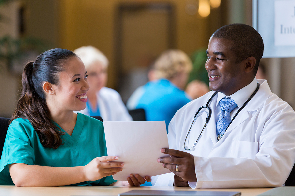nurse interview The basic bottom line is no matter what type of interview it is, smile often, be polite, be yourself but keep it professional, and attempt to present yourself as an eager, brilliant, professional, and polite new graduate nurse.