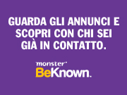 BeKnown di Monster