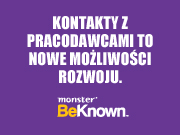Aplikacja BeKnown od Monster