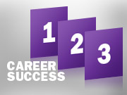 3 steps to career success