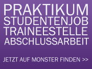 Studentenjobs, Praktika auf monster.de