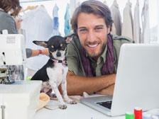 Mit dem Hund am Arbeitsplatz