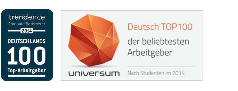 Deutschlands 100 Top Arbeitgheber