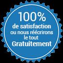 Garantie de satisfaction à 100 % ou nous le réécrirons GRATUITEMENT