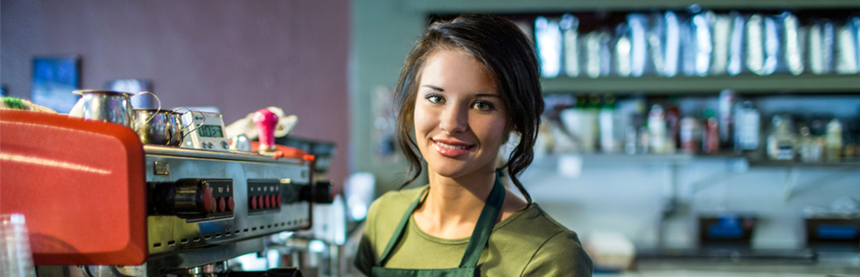 image of a barista