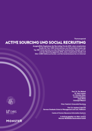 Recruiting Trends 2016 - Active Sourcing und Social Recruiting