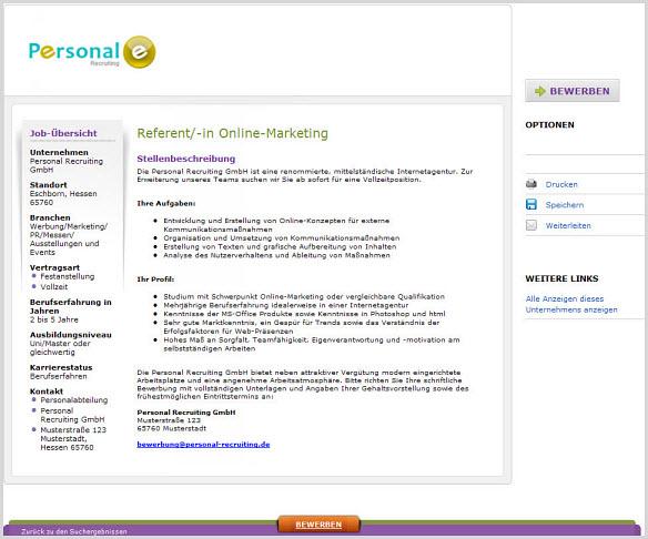 Publier une offre d'emploi en ligne