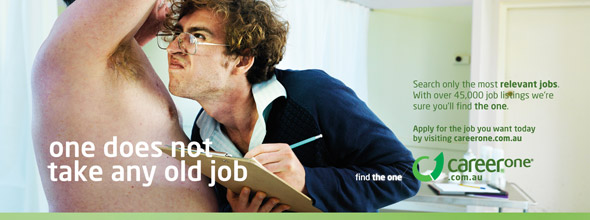 CareerOne �Find the One� Print Ad