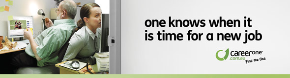 CareerOne �Find the One� Out of Home Poster