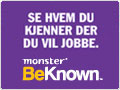 BeKnown fra Monster