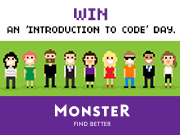 WIN and start coding