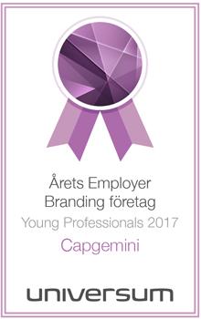 Capgemini award 2017
