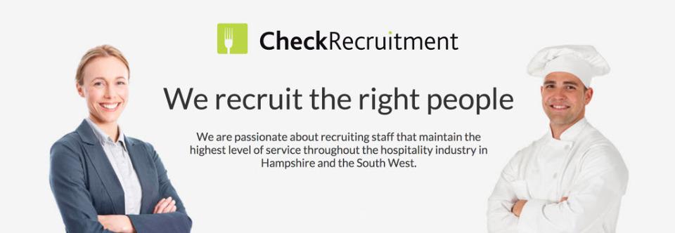 Check Recruitment Ltd Banner