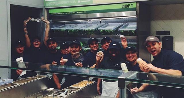 Chop't Creative Salad Company banner