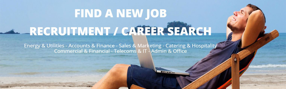 Find a new job  Banner