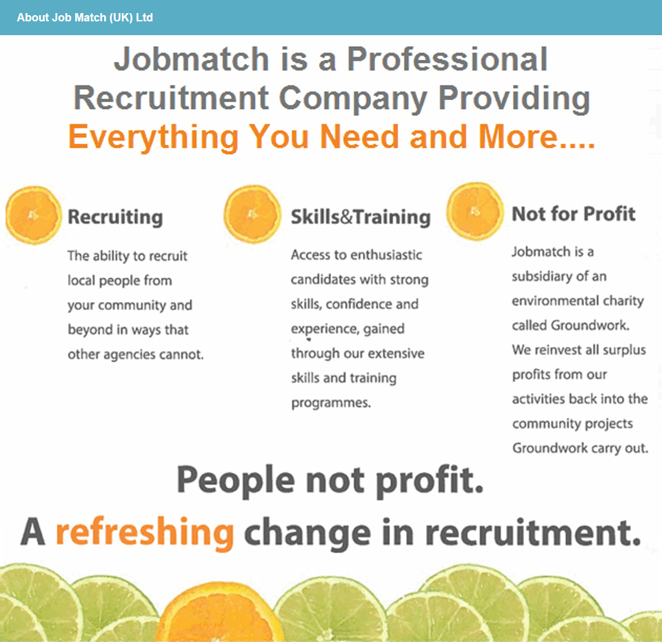 Job Match (UK) Ltd footer