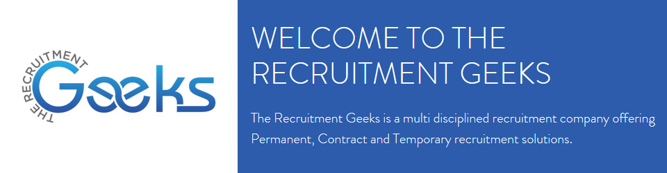 The Recruitment Geeks Banner