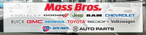 Moss Bros. Auto Group Banner