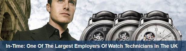 IN-TIME WATCH SERVICES LIMITED Banner