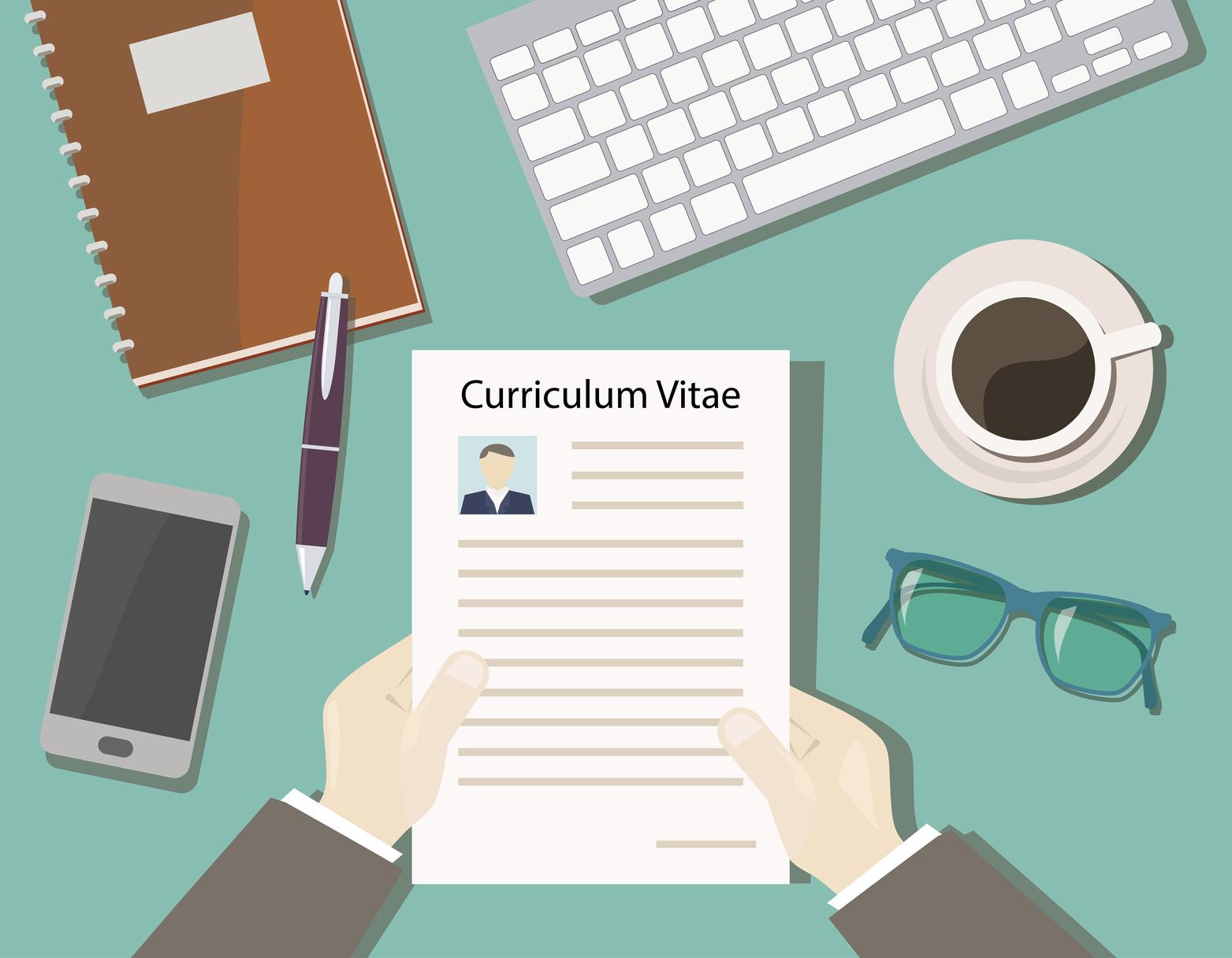 Les cinq rubriques clé d'un bon CV
