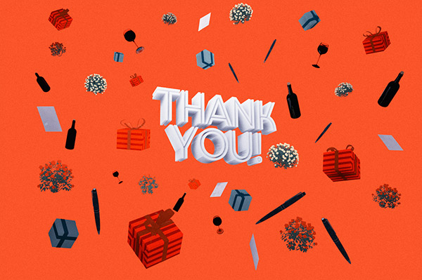 The 4 levels of 'thank you'