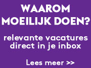 Vacatures in je inbox