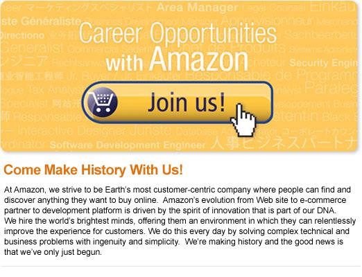 Join Us-Amazon