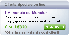 offerta speciale monster