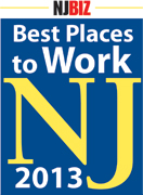 Best Places to Work NJ 2013 logo