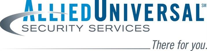 Company Logo Allied Universal