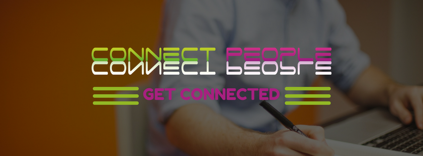 Company Branding Banner CONNECT PEOPLE