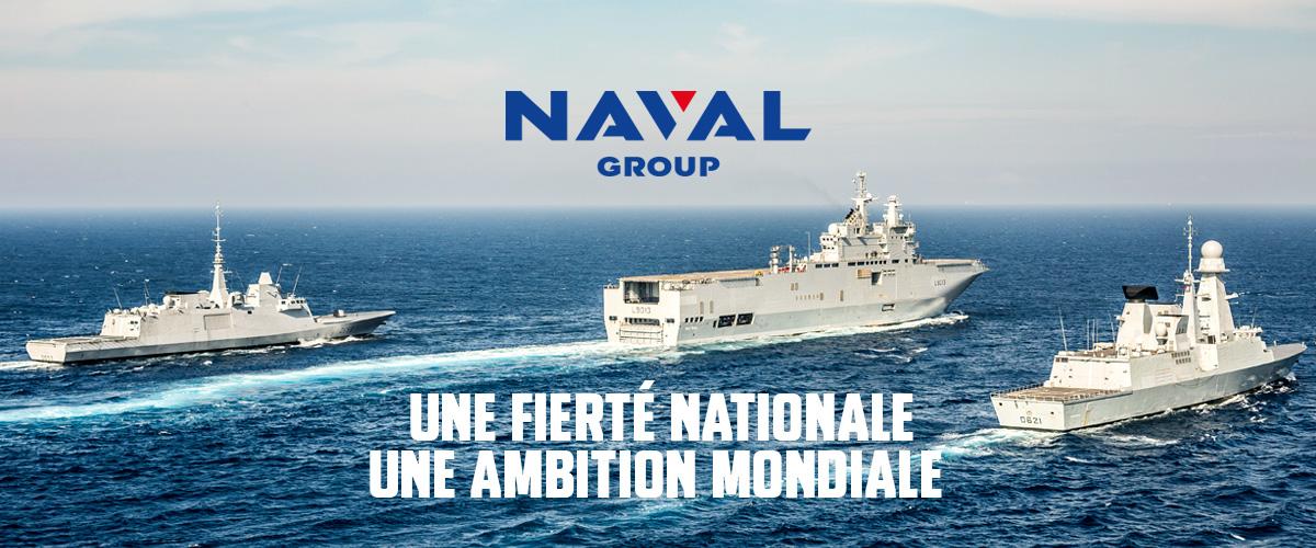 <p><strong>DEFENSE, ENERGIE : HAUTES TECHNOLOGIES EN MER</strong> <br /> Champion technologique du naval de défense, nous concevons, réalisons et entretenons des bâtiments de surface et des sous-marins pour les flottes militaires française et étrangères. Nous menons d'ambitieux programmes de développement des énergies marines renouvelables dans 3 domaines : les hydroliennes, les éoliennes flottantes et l'énergie thermique des mers. <br /> <br /> <strong>RESOUDRE L'ULTIME COMPLEXITE</strong> <br /> Rejoindre Naval Group, c'est travailler sur des produits et des services d'excellence et de haute technologie, plus complexes encore que d'envoyer des fusées dans l'espace. Nous sommes l'un des rares industriels dans le monde capable de concevoir et de réaliser des systèmes aussi incroyablement pointus qu'un sous-marin nucléaire lanceur d'engins, un porte-avions nucléaire ou des hydroliennes.</p>