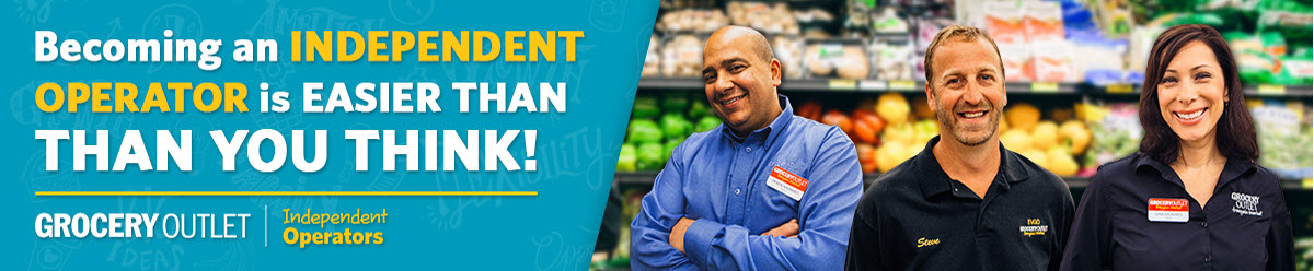 Company Branding Banner Grocery Outlet