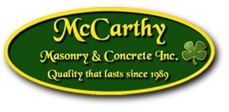 Company Logo McCarthy Masonry and Concrete, Inc.