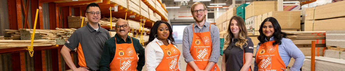 Company Branding Banner The Home Depot Canada