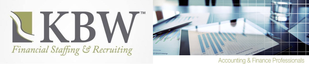 Company Branding Banner KBW Financial Staffing Recruiting