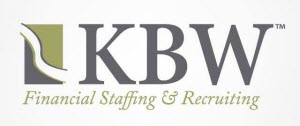 Company Logo KBW Financial Staffing Recruiting