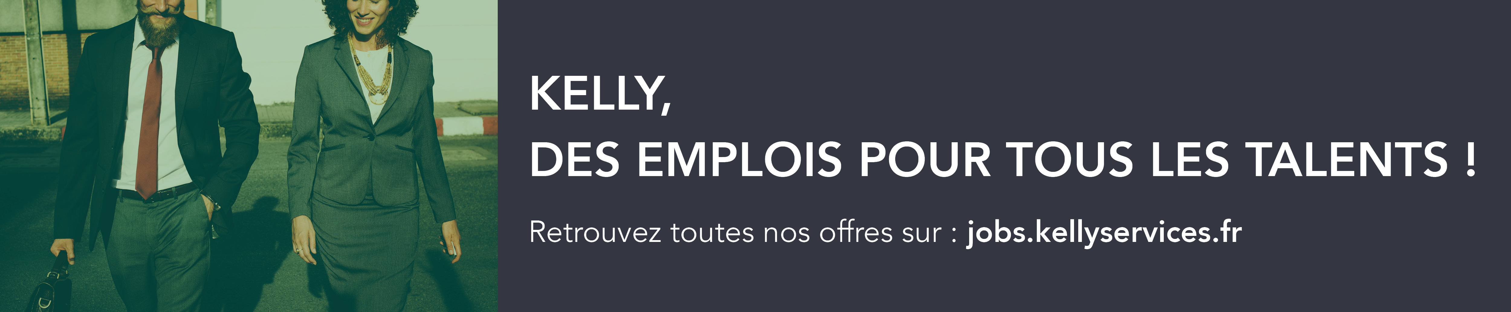 Company Branding Banner Kelly Services France