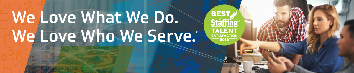 Kforce is an award-winning professional staffing firm that provides strategic partnership in the areas of Technology and Finance & Accounting services. <br/><br/>  Our name stands for KnowledgeForce®, which describes the experience we've gained since 1962, the 36,000 highly-skilled professionals we engage annually, and our customer-centric Knowledge Staffing Process<sup>SM</sup>  which allows for high-touch relationship-driven results. Our Vision is to have a menaingful impact on all the lives we serve.<br/><br/>  Each year, our network of over 50 offices and two national recruiting centers provides opportunities across 4,000 companies including 70 percent of the Fortune 100. Your success is our mission. Gain meaningful connections with your skills and our network. <br/><br/>  <i>We love what we do. We love who we serve®.</i>