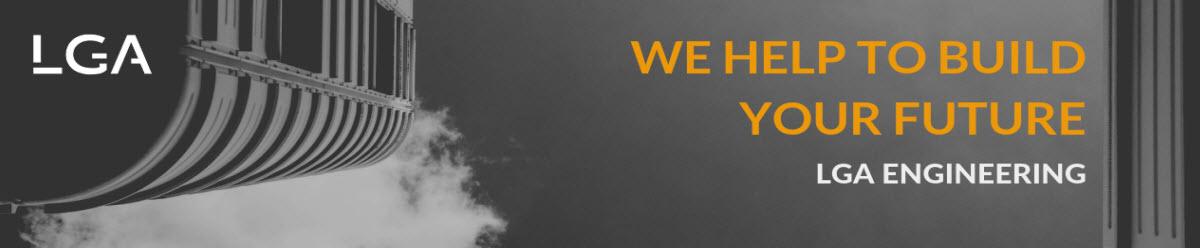 Company Branding Banner LGA Engineering