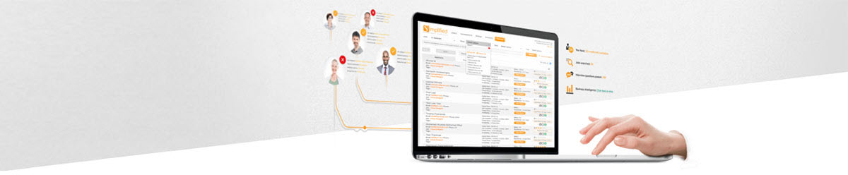 Simplified is the trusted recruitment platform used by 10,000+ companies to manage their recruitment. Our clients include various public sector enterprises (NHS, The University of Oxford), the private sector including the FTSE 100 (BT, British American Tobacco), and the Charity / Third Sector (RSPCA, Age UK, Wikipedia).