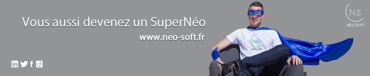 <p>Douze ans après sa création, le groupe Néo-Soft est reconnu pour l'expertise de ses 1150 consultants et ses 14 agences de proximité.</p> <p><br /> Néo-Soft est une société de conseil en informatique et technologies spécialisée dans 4 domaines :<br /> - Conseil & Gestion de projet<br /> - Domaine applicatif<br /> - Infrastructures & Réseaux<br /> - Cybersécurité grâce notre filiale dédiée Cogital</p> <p>Une offre diversifiée pour accompagner nos clients tout au long de leurs projets.</p> <p><br /> Nous nous mobilisons au quotidien pour le bien-être de nos collaborateurs, une démarche à nouveau récompensée par le label LUCIE (RSE) en 2016 et l'obtention du label Happy At Work 2018.<br /> Forts d'un modèle social unique et innovant, nous nous engageons également contractuellement pour vous : pas de clause de mobilité géographique, pas de période d'essai employeur, une mutuelle santé et prévoyance de haut niveau etc.</p> <p><br /> En 2018, nous recrutons 400 personnes.</p>