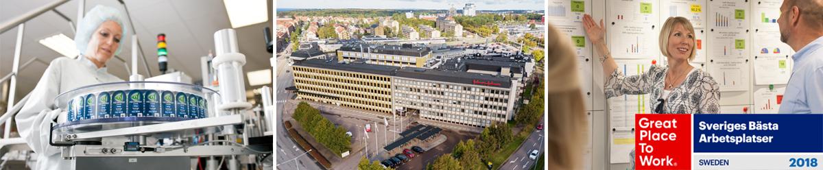 <p>Johnson & Johnson Helsingborg (McNeil AB)är en avHelsingborgs största privata arbetsgivare med cirka 640 medarbetare. Vi ingår i Johnson & Johnson-koncernen som är ett globalt hälsovårdsföretag med 129 000 medarbetare i 60 länder och en försäljning på 76,5 miljarder dollar 2017.</p> <p>Johnson & Johnson Helsingborgtillverkar läkemedel för egenvård. Den största produkten är Nicorette - världens ledande preparat för rökavvänjning. Vår R&D-avdelning är ett s k Global Center of Excellence, vilket innebär att de arbetar mot hela J&J-koncernen inom tre terapiområden: Rökavvänjning, Hosta & förkylning samt Mage & tarm.</p> <p>Vi arbetar målmedvetet för att ge medarbetarna förutsättningar för en bra livskvalitet och ett hälsosamt liv. Med hänsyn till detta och att vi är världens största producent av nikotinläkemedel, är vi en tobaksfri arbetsplats. Våren 2018 utsågs vi till en av Sveriges Bästa Arbetsplatser av organisationen Great Place to Work.</p>
