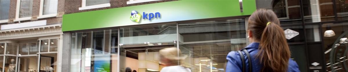 Company Branding Banner KPN