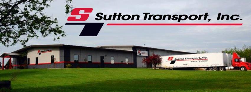 Company Branding Banner Sutton Transport, Inc.